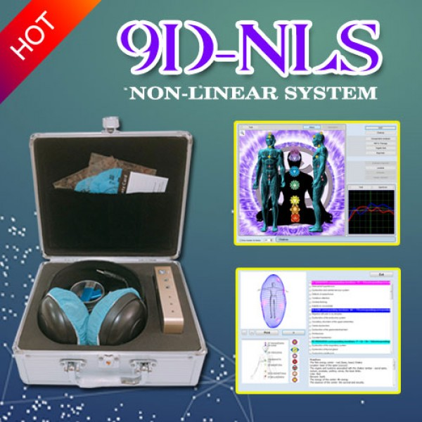 Bioplasm 9D-NLS Bioresonance Machine - Aura Chakra Healing